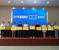 热烈祝贺公司荣获2019年度铜陵市地方企业50强称号